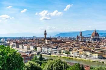 Blick auf die Stadt Florenz