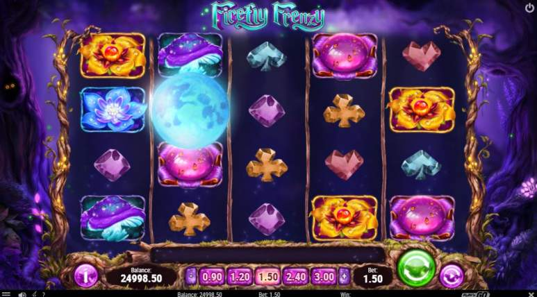 Firefly Slot Screenshot von Play ´n Go